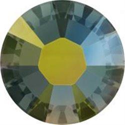 Swarovski® 2078 Crystal Iridescent Green Hotfix SS12