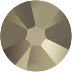 Swarovski® 2078 Crystal Metallic Light Gold Hotfix SS40