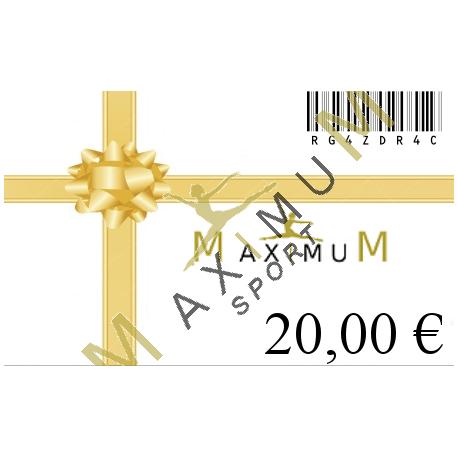 Geschenkgutschein 20€