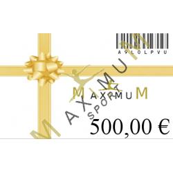 Neuer Geschenkgutschein-500